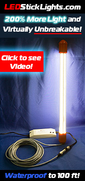 Waterproof LED Stick Lights - The Ultimate Work Light
