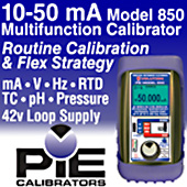 PIE 10-50 mA Calibrators- Keep Your Nuclear Power Plant Running!