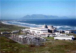 Koeberg Nuclear Power Station - South Africa's only current nuclear plant (Source: Eskom)