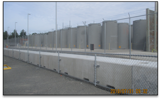 Holtec casks at Vermont Yankee