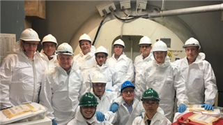 IAEA Mission in Italy