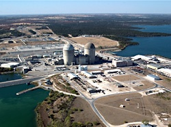 Comanche Peak nuclear plant, Photo: NRC