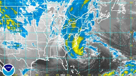 Hurricane Sandy. Source: NOAA