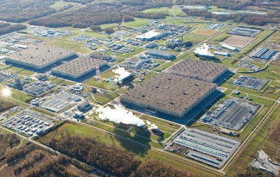 Paducah Gaseous Diffusion Plant. Source: Usec