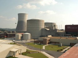 Sequoyah nuclear plant. Source: TVA