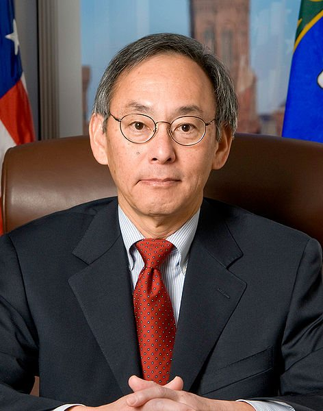 Steven Chu. Source: DOE