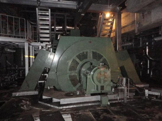 Damaged diesel generator at Fukushima. Source: TEPCO
