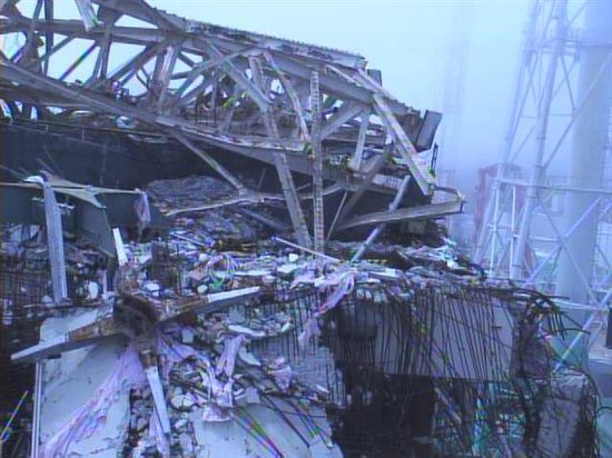 Fukushima unit 3 reactor building on July 13. Source: TEPCO