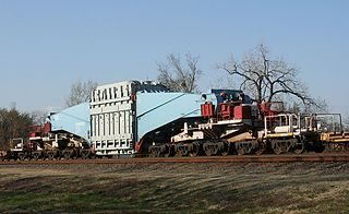 Schnabel railcar. Source: Wikipedia