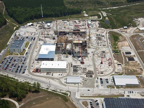 SRS MOX plant, pictured in 2011. Source: Shaw Areva MOX Services/SRS