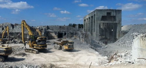 Demolition at Marble Hill. Source: Hillco Real Estate