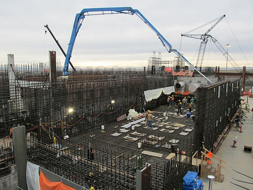 Hanford high-level waste facility. Source: Bechtel/DOE