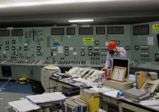 Fukushima unit 3 control room. Source: TEPCO