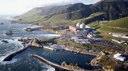 Diablo Canyon Nuclear Plant. Source: PG&E