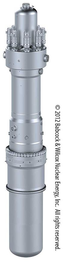 mPower small modular reactor. Source: Generation mPower