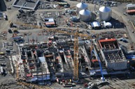 Undated photo of the Hanford high-level waste facility. Source: DOE