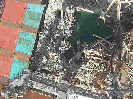 Fukushima unit 3 spent fuel tank. Source: TEPCO