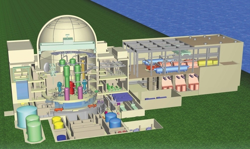 u s apwr mitsubishi nuclear power plants world wide nuclear power plant diagram explanation nuclear power plant layout design
