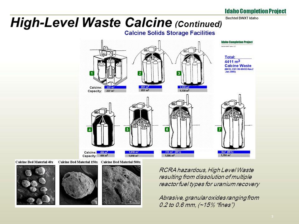 Calcine Waste