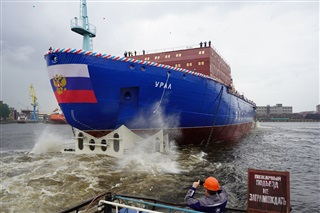 Launch of the Ural Ice-breaker