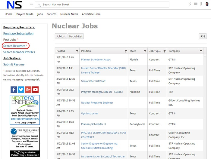 nuclear resume search nuclear street support support nuclear